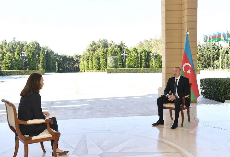 """Azerbaijani President: """"Our position has always been that all co-chairs should be neutral"""""""