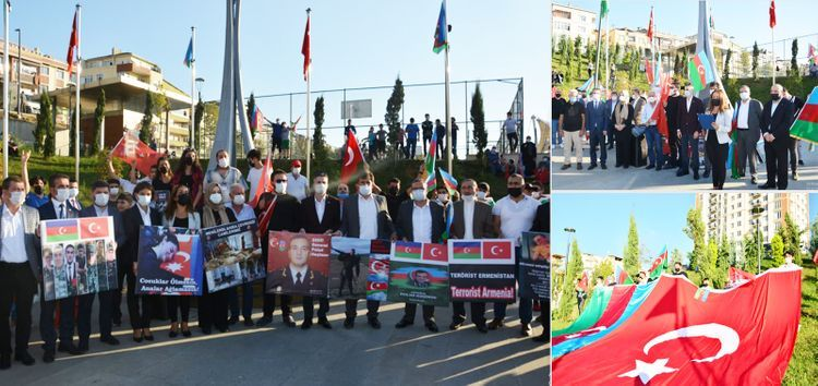 Next support rally to Azerbaijan held in Istanbul