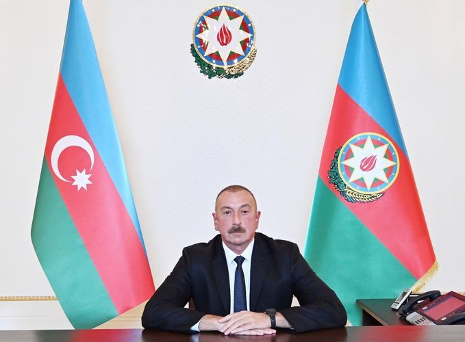 Azerbaijani President: We don't have any historical or religious targets among those targets which we have