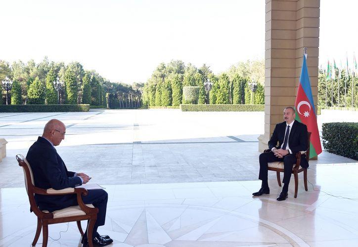 Azerbaijani President interviewed by Turkey's NTV channel