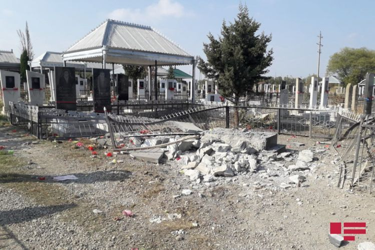 Death toll from Armenian army's shelling of graveyard in Tartar during funeral, rises to 4 - <span class='red_color'>PHOTO</span> - <span class='red_color'>UPDATED-1</span>