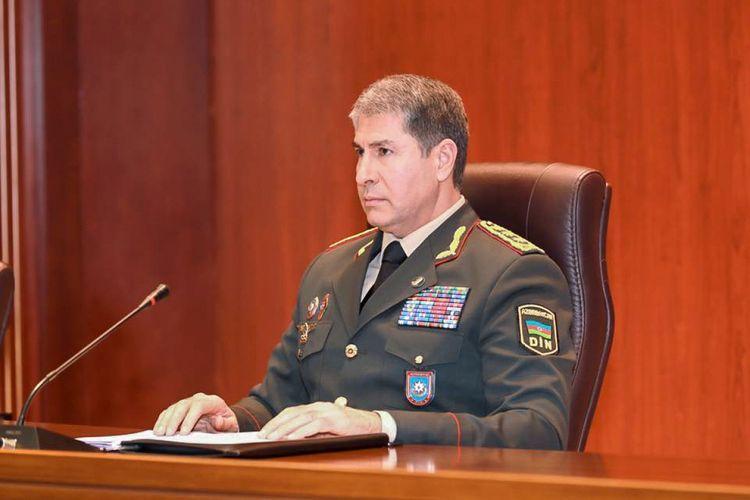 Vilayat Eyvazov received Iran's ambassador