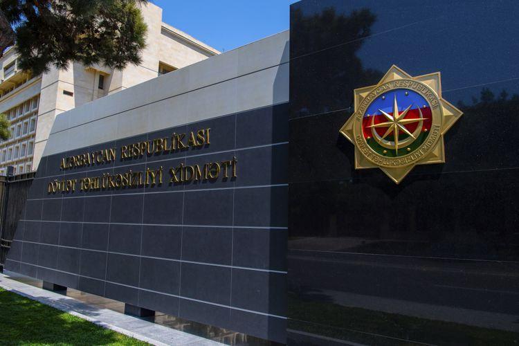 Azerbaijan's SSS cautioned about Armenian terror