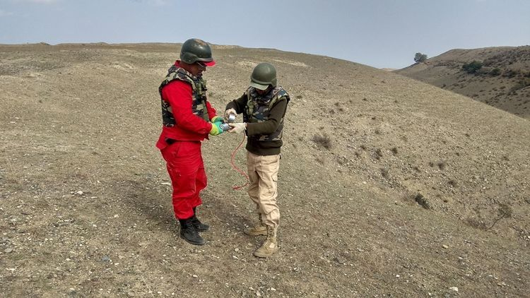 ANAMA specialists continue search operations in the frontline areas