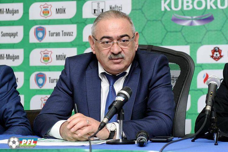 """Ramin Musayev: """"Lazım olarsa, çempionatı dayandırarıq"""""""