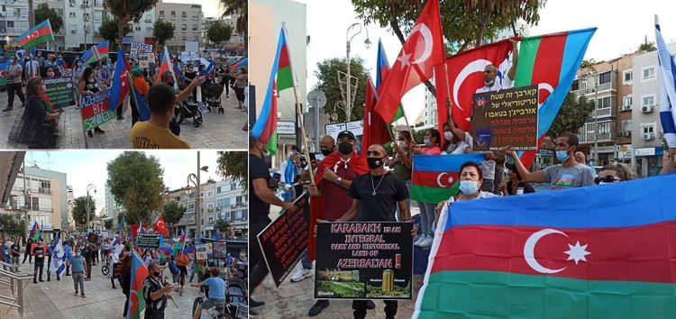 Rally against Armenia's provocation held in Israel