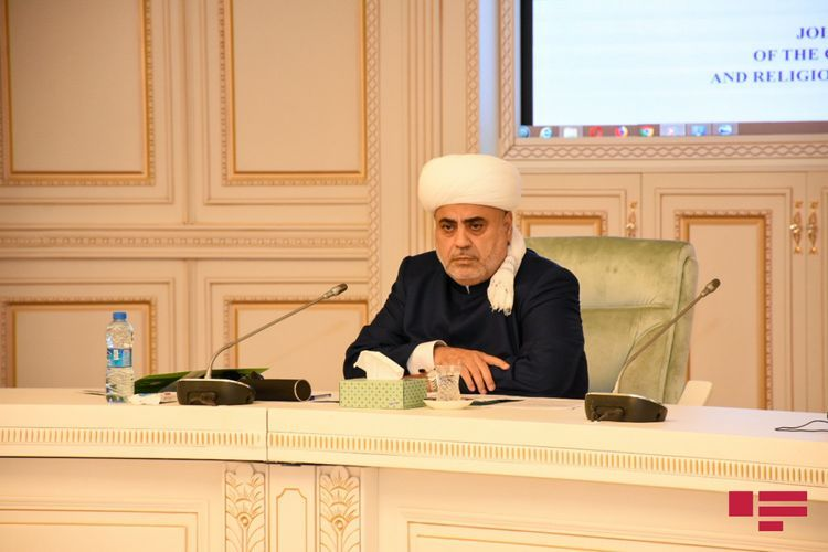 The Caucasus Muslims' Board and Religious confessions in Azerbaijan issued joint statement
