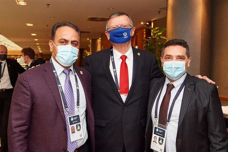 Azərbaycanlı federasiya rəsmisi CEV-in İnzibati Şurasına seçilib