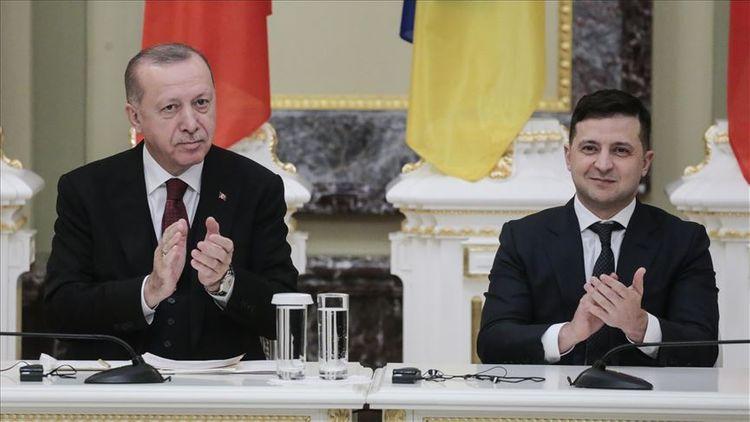 """Ərdoğan: """"Ukrayna ilə birgə terror təşkilatlarına qarşı mübarizəmizi artıracağıq"""""""