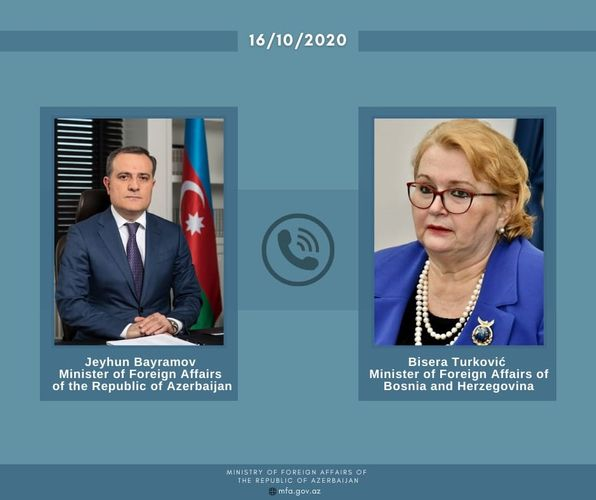 Azerbaijani and Bosnian FMs hold phone talk