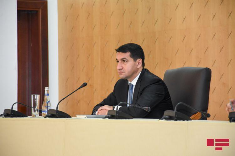 HIkmat Hajiyev: Armenia inflicted rocket attack on Azerbaijan