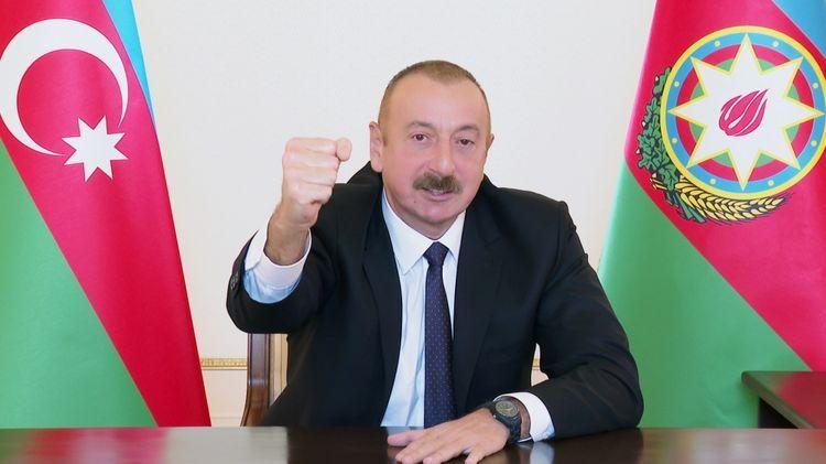 Azerbaijani President discloses some of Armenian equipment destroyed by Azerbaijani Army