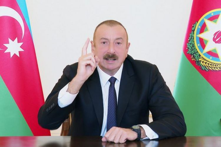 """Azerbaijani President: """"We will drive them out of our lands to the end"""""""