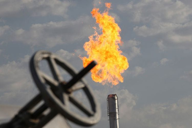 Volume of gas produced in ACG and and Shah-Deniz fields so far, announced