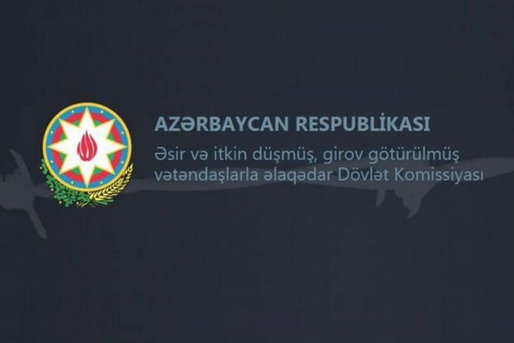 Komissiya: 1992-ci ildə əsir götürülmüş Azərbaycan hərbçisinin tapılması barədə məlumatlar həqiqətə uyğun deyil