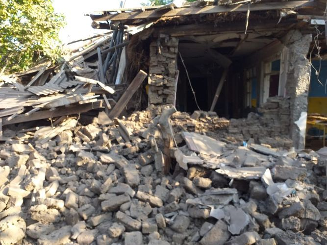 Armenians subjected Terter to firing, there is wounded person