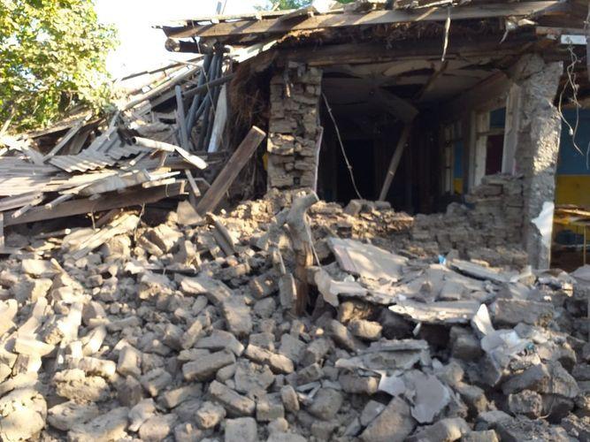 Армяне обстреляли Тертер, есть раненые - ФОТО