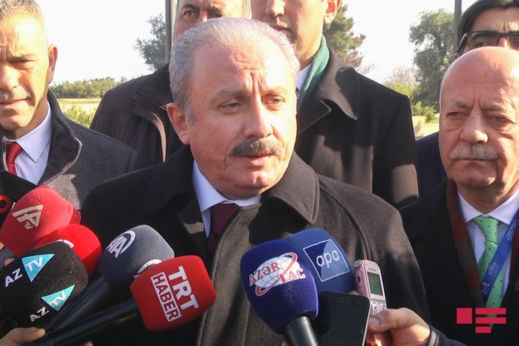 """Turkish Parliament Speaker: """"We stand with Azerbaijan not only because we are friends, but also because it is right"""""""