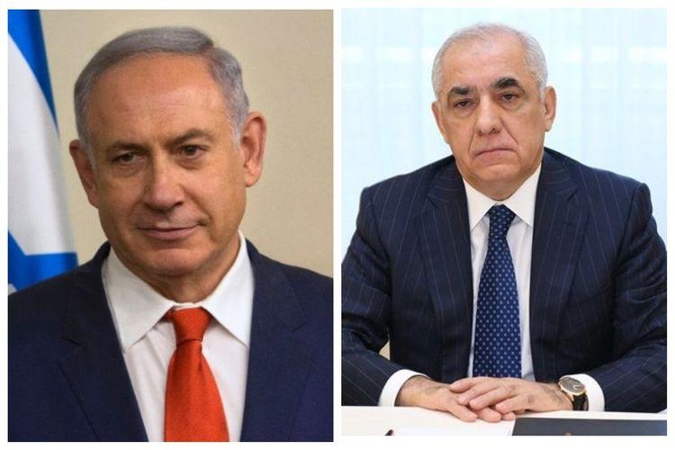 """Netanyahu: """"Azərbaycanın müstəqilliyini tanıyan ilk dövlətlərdən biri olmaqdan qürur duyuruq"""""""