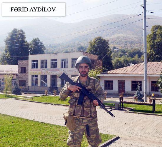 Азербайджанский солдат пишет новую историю – ФОТО