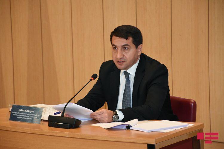 Помощник президента: Армения не ставит разницы между военными и гражданскими объектами