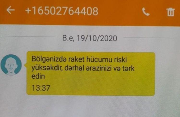 NRYTN: Ermənistan tərəfi təxribat xarakterli məlumatlar və dezinformasiya yaymaqda davam edir