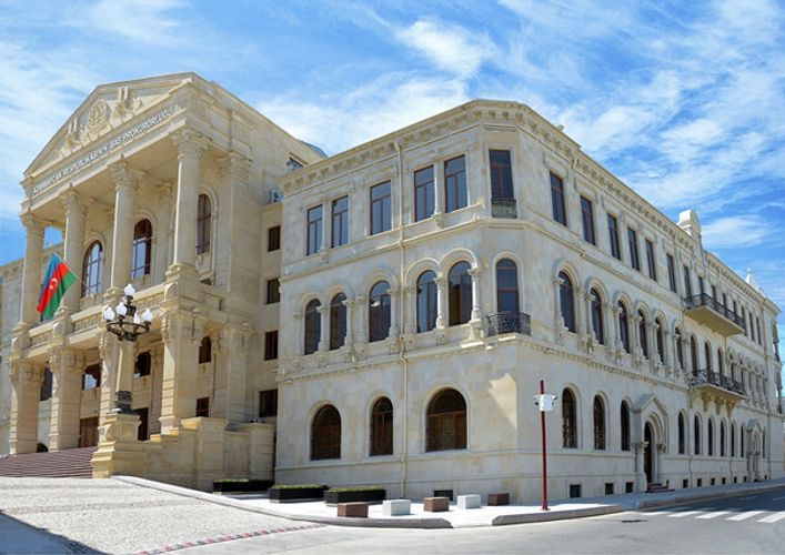 General Prosecutor's Office disseminated information about infliction of fire by Armenians on cotton processing factory in Azerbaijan's Terter
