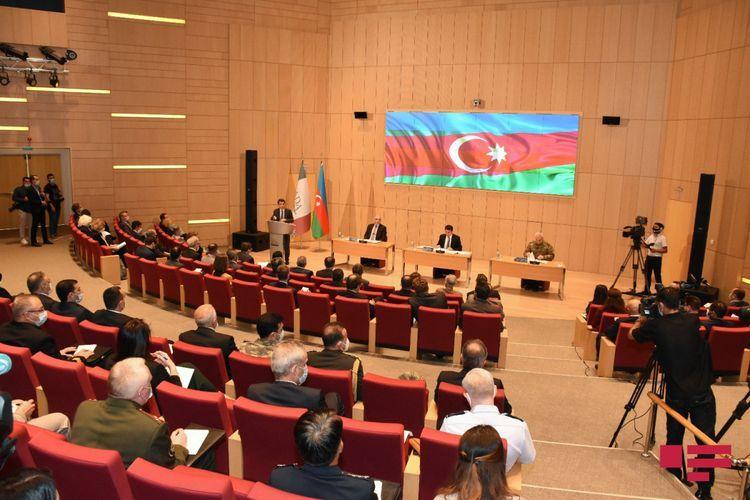 Состоялся очередной брифинг для руководителей аккредитованного в Азербайджане дипкорпуса