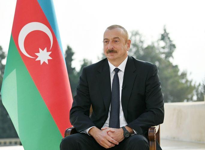 """Azərbaycan Prezidenti: """"Son anda onlar Kəlbəcər və Laçının qaytarılmasından imtina etdilər"""""""