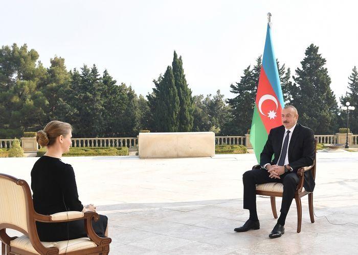 Президент Ильхам Алиев: Мы тоже хотим мира, но в отличие от Армении, мы также хотим территории, которые по праву нам принадлежат