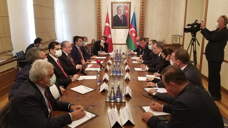 """Minister: """"Azerbaijani-Turkish relations successfully develop in all fields"""" - UPDATED"""