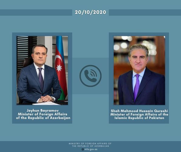 Pakistani FM:  Pakistan have always been and will be with the brotherly nation of Azerbaijan and supports its right of self-defense - UPDATED