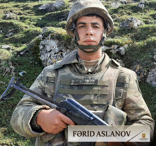A group of military servicemen who contributed to victories of Azerbaijani Army - PHOTO