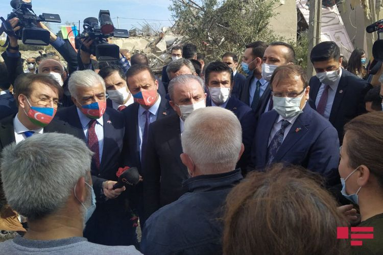 Delegation, led by TGNA Chairman Mustafa Sentop, is in Ganja city - UPDATED
