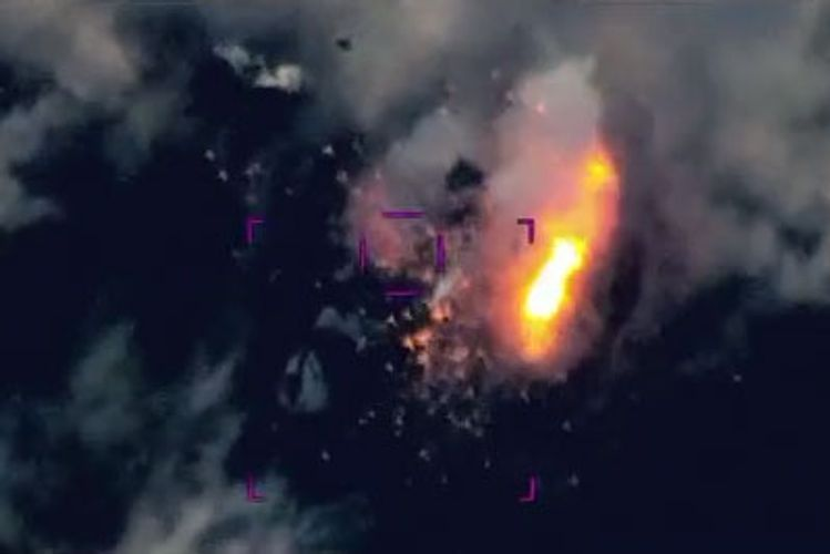 Azerbaijani Army destroyed a lot of enemy equipment and live force - VIDEO