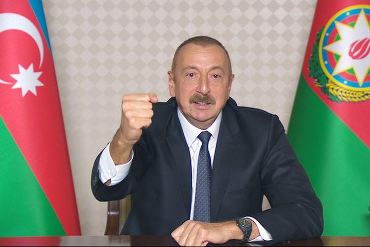"""Azərbaycan Prezidenti: """"İndiyədək düşmənin 241 tankı məhv edilib, 39 tank hərbi qənimət kimi götürülüb"""""""