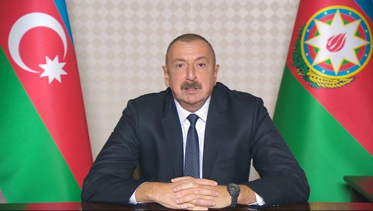 """Prezident İlham Əliyev: """"Onların ordusunu, texnikasını demək olar ki, məhv etmişik. Qaçırlar, hələ qaçacaqlar"""""""