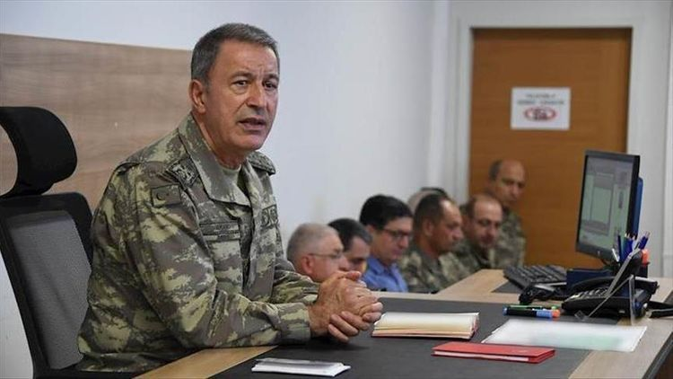 """Hulusi Akar: """"We will support Azerbaijan in fight for restoration of territorial integrity with all our opportunities"""""""