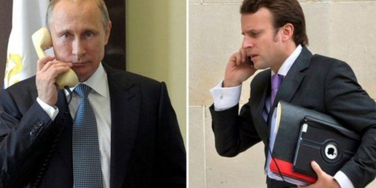 Putin Makronla Dağlıq Qarabağdakı vəziyyəti müzakirə edib