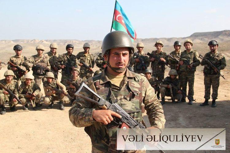 Бесстрашные, отважные воины доблестной азербайджанской армии - ФОТО