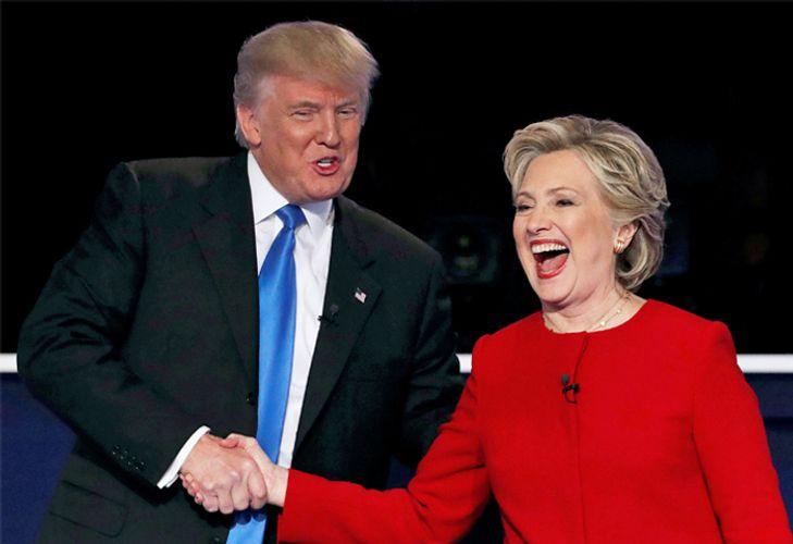 Трамп необычно пошутил про Клинтон