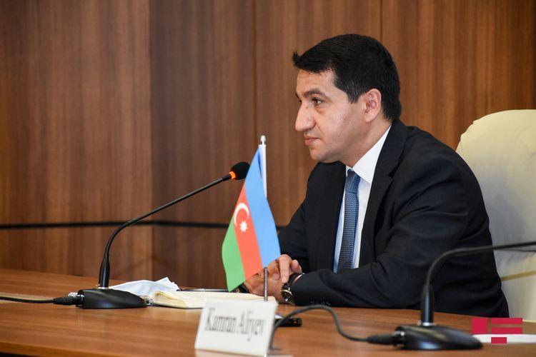 Hikmet Hajiyev: Armenia