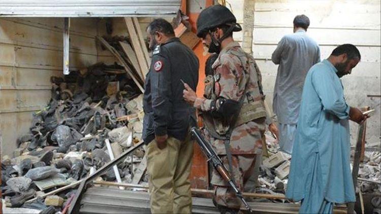 Pakistanda yaşayış binasında partlayış olub, ölənlər var