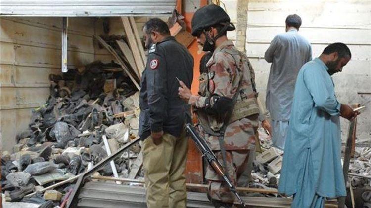 Blast in 4-story building kills 5 in Pakistan