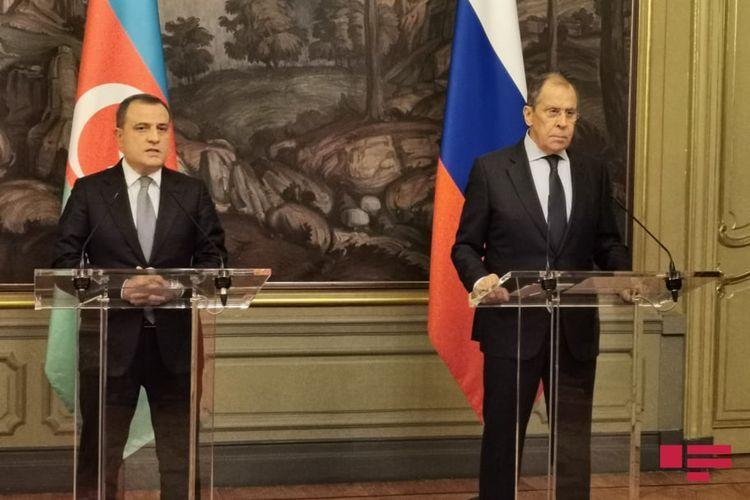 Azerbaijani and Russian FMs meet in Moscow