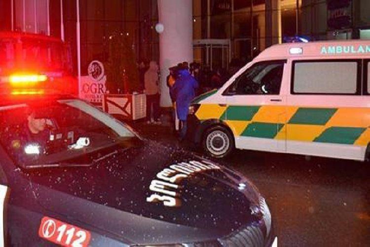 Gürcüstanda hakim partiyanın ofisi yaxınlığında atışma olub, yaralananlar var
