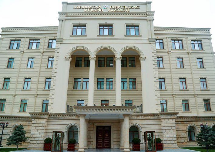 Минобороны: Противник обстреливает позиции азербайджанской армии