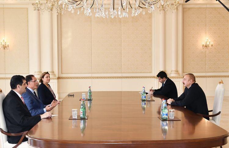 Президент Ильхам Алиев принял главного омбудсмена Турции - ОБНОВЛЕНО