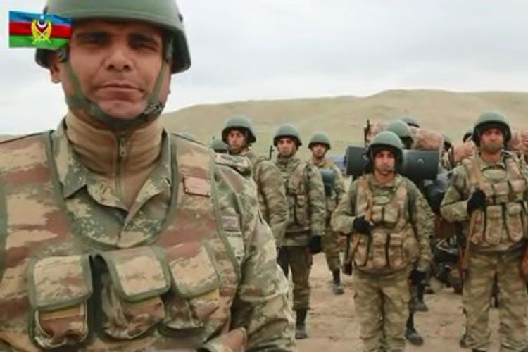 Боевой дух азербайджанского солдата высок - ВИДЕО