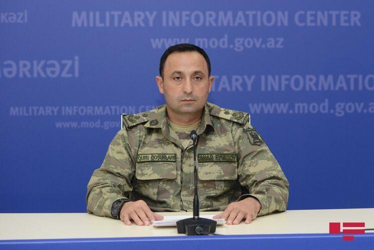 Минобороны: Азербайджанская армия продолжает боевые действия с победным настроем